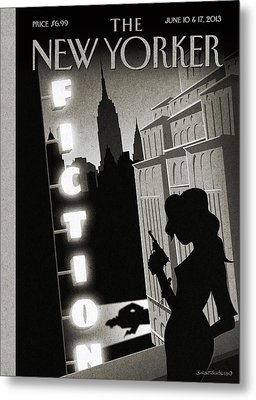New Yorker June 10th, 2013 Metal Print