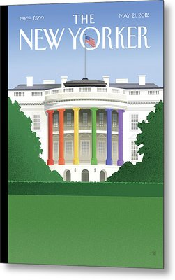 New Yorker May 21st, 2012 Metal Print by Bob Staake