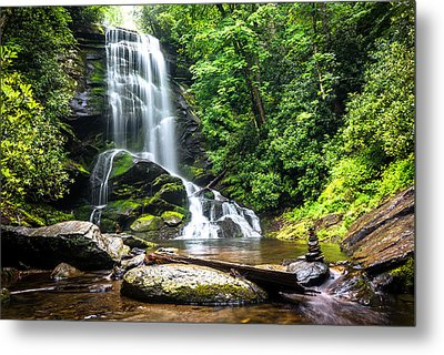 Upper Catabwa Falls Metal Print