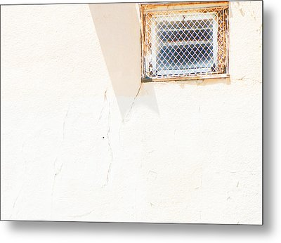 Urban Window 2 Metal Print by Lenore Senior