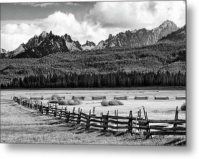 Usa, Idaho, Sawtooth National Metal Print by Jaynes Gallery