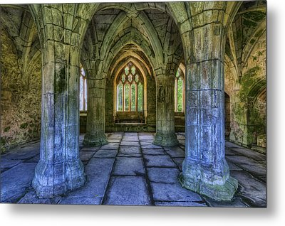 Valle Crucis Metal Print by Ian Mitchell