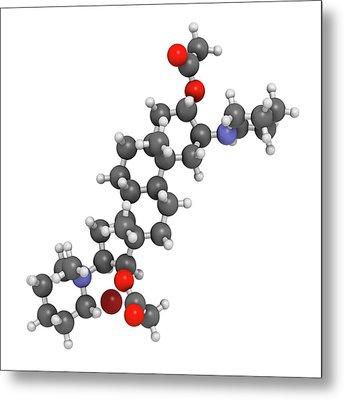 Vecuronium Bromide Muscle Relaxant Metal Print by Molekuul