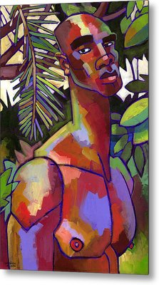 African Forest Metal Print