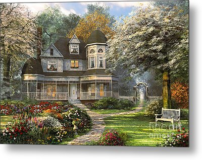 Victorian Home Metal Print by Dominic Davison