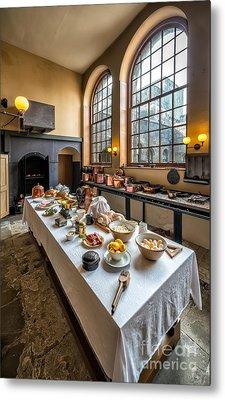 Victorian Kitchen Metal Print by Adrian Evans