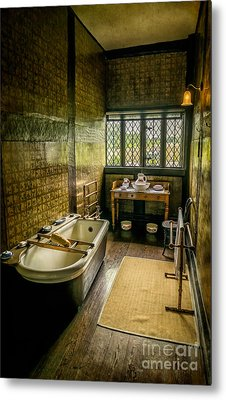 Victorian Wash Room Metal Print by Adrian Evans