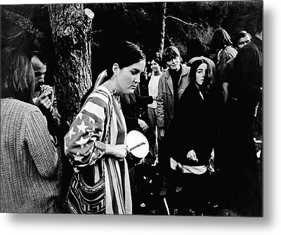 Vietnam War Protest Metal Print by Underwood Archives Lubliner