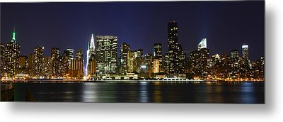 View From Gantry Plaza State Park Metal Print by Theodore Jones