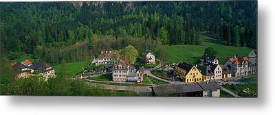 Village Of Hohen-schwangau, Bavaria Metal Print