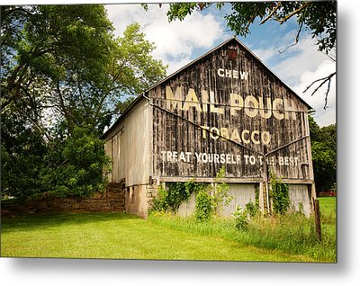 Vintage Mail Pouch Barn Metal Print by Gregory Ballos