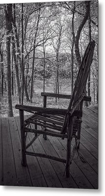 Waiting For Spring Metal Print by Wayne Meyer
