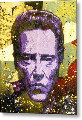 Walken My Ass Off Metal Print by Bobby Zeik