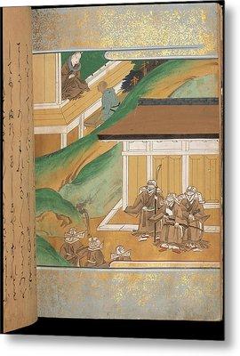 Warrior Monks Metal Print