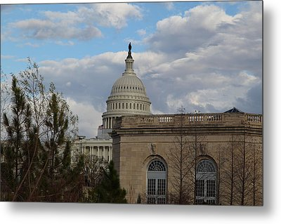 Washington Dc - Us Capitol - 011314 Metal Print