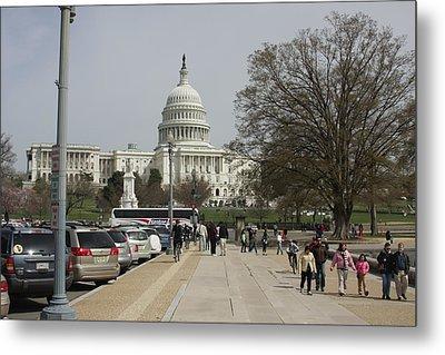 Washington Dc - Us Capitol - 01133 Metal Print by DC Photographer
