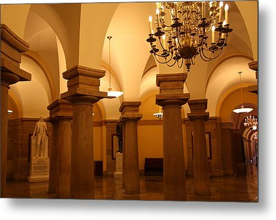 Washington Dc - Us Capitol - 01135 Metal Print