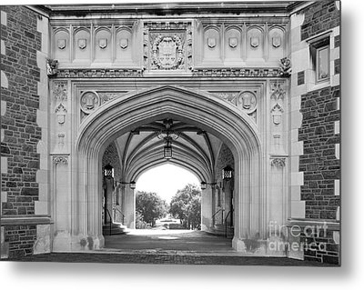 Washington University Brookings Hall Metal Print