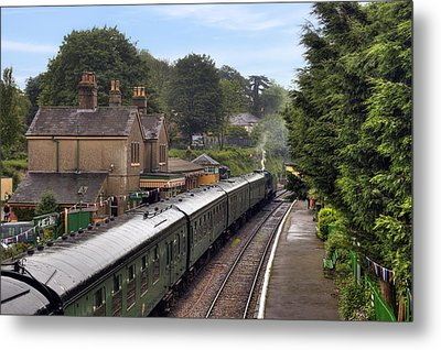 Watercress Line Alresford Metal Print