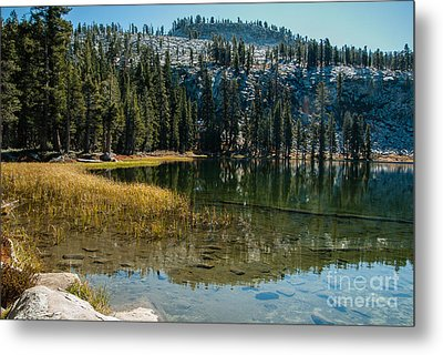 Weaver Lake- 1-7686 Metal Print