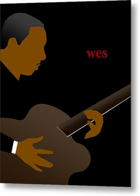 Wes Montgomery Metal Print by Victor Bailey