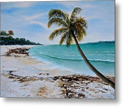 Metal Print featuring the painting West Of Zanzibar by Sher Nasser