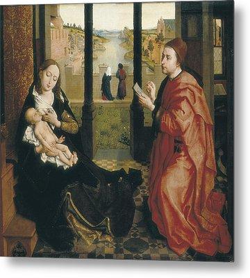 Weyden, Rogier Van Der  1400-1464. St Metal Print by Everett
