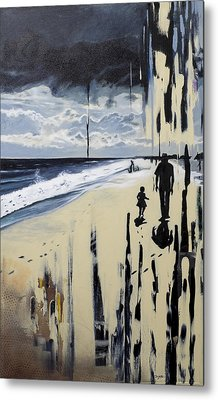 What Tides Cant Wash Away Metal Print