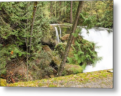 Whatcom Falls Metal Print