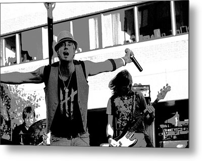 Who's Ready To Party? Metal Print by James Hammen