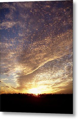Metal Print featuring the photograph Wild Sky 2 by Cynthia Lassiter