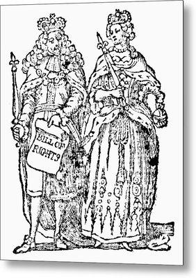 William IIi & Queen Mary Metal Print