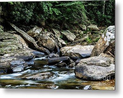 Williams River Rocks Metal Print by Thomas R Fletcher