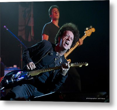 Willie Nile Metal Print by Jeff Ross