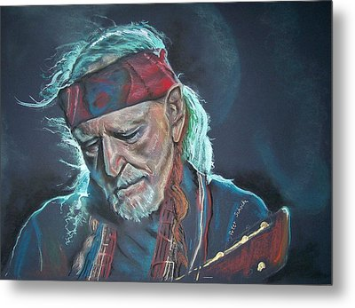 Willie Metal Print by Peter Suhocke