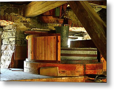 Windmill Metal Print by Tommytechno Sweden