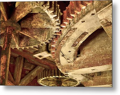 Windmill Wheels Metal Print by Tommytechno Sweden