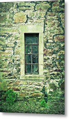Window Metal Print by Tom Gowanlock