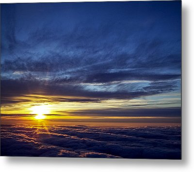 Metal Print featuring the photograph Winter Dawn Over New England by Greg Reed