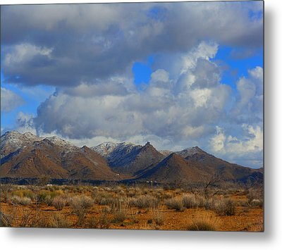 Winter In Golden Valley Metal Print