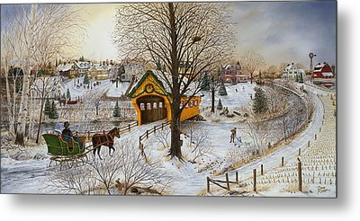 Winter Memories Metal Print by Doug Kreuger