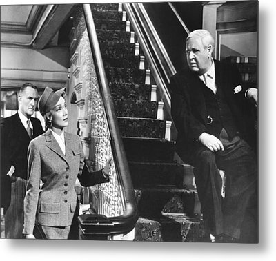 Witness For The Prosecution, From Left Metal Print