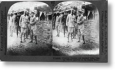 World War I Somme Front Metal Print by Granger