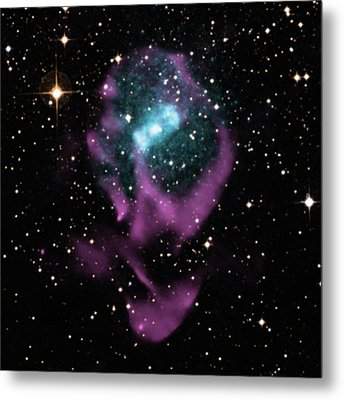 X-ray Binary Stars Metal Print by Nasa/cxc/univ. Of Wisconsin