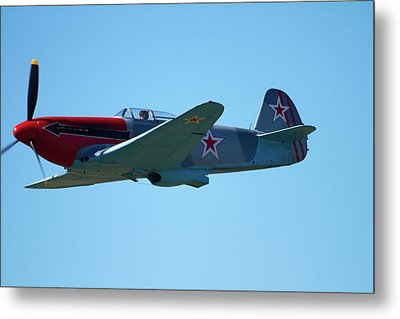 Yakovlev Yak-3 - Wwii Russian Fighter Metal Print by David Wall