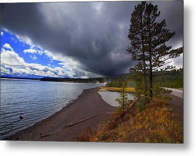 Yellowstone Park Metal Print
