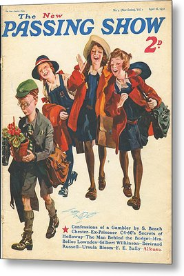 1930s,uk,the Passing Show,magazine Cover Metal Print by The Advertising Archives