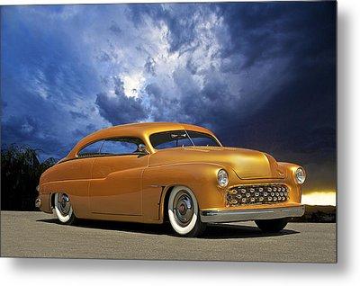 1950 Mercury Custom Metal Print by Dave Koontz