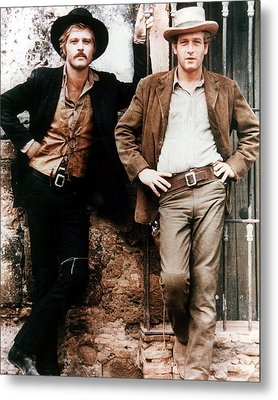 Butch Cassidy And The Sundance Kid  Metal Print by Silver Screen