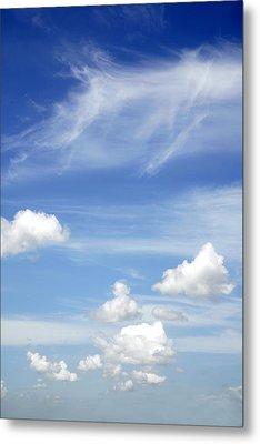 Clouds Metal Print by Les Cunliffe